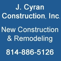 J Cyran Construction, Inc.